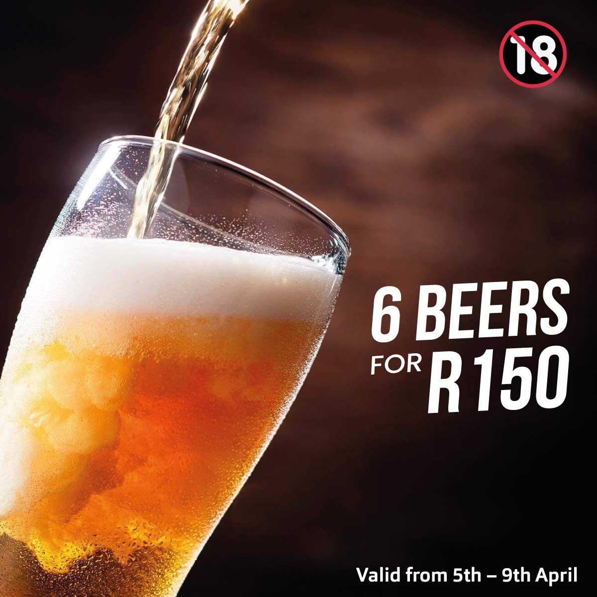 6 Beer Special