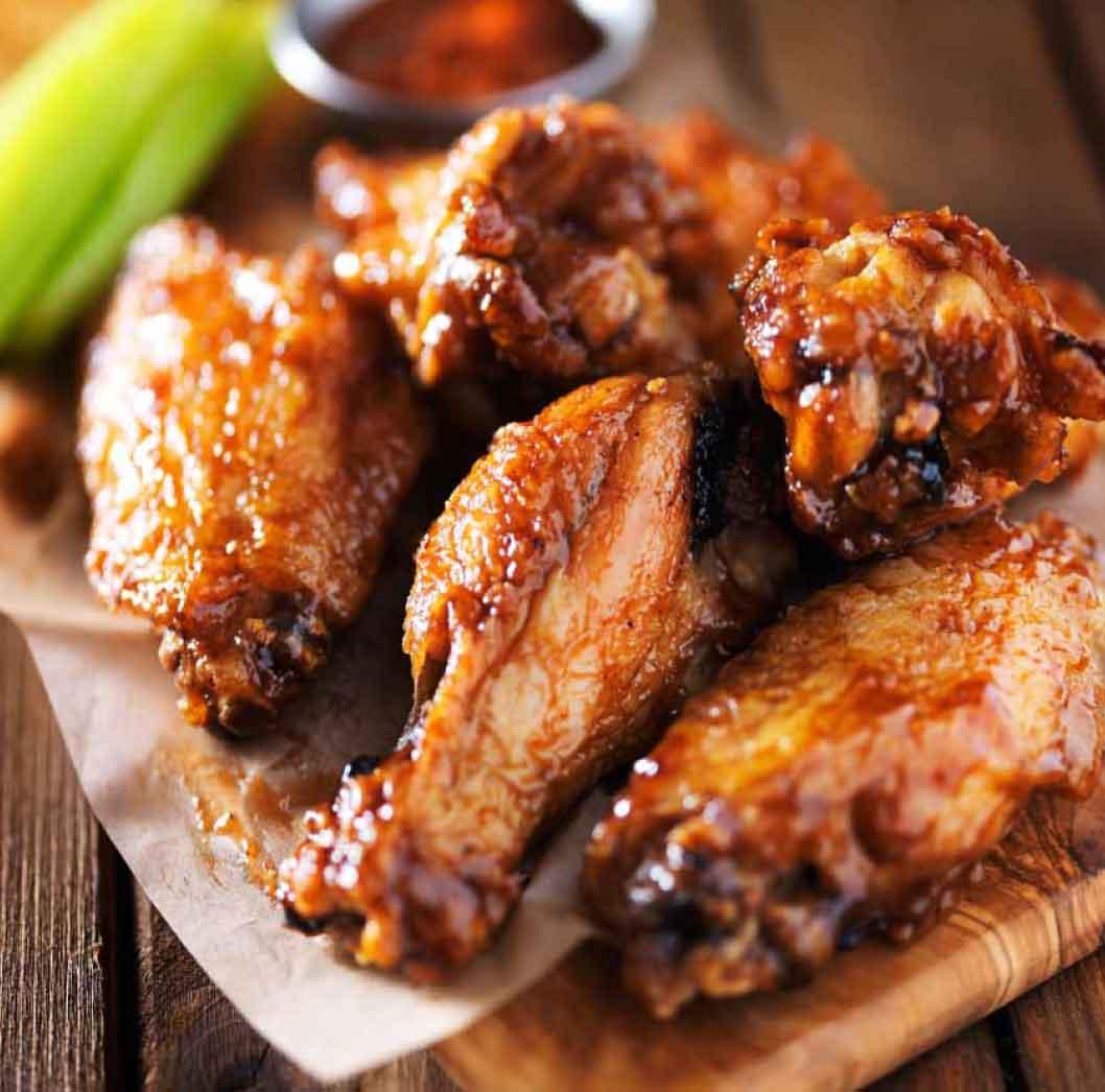 Buffalo Wings (6 wings)