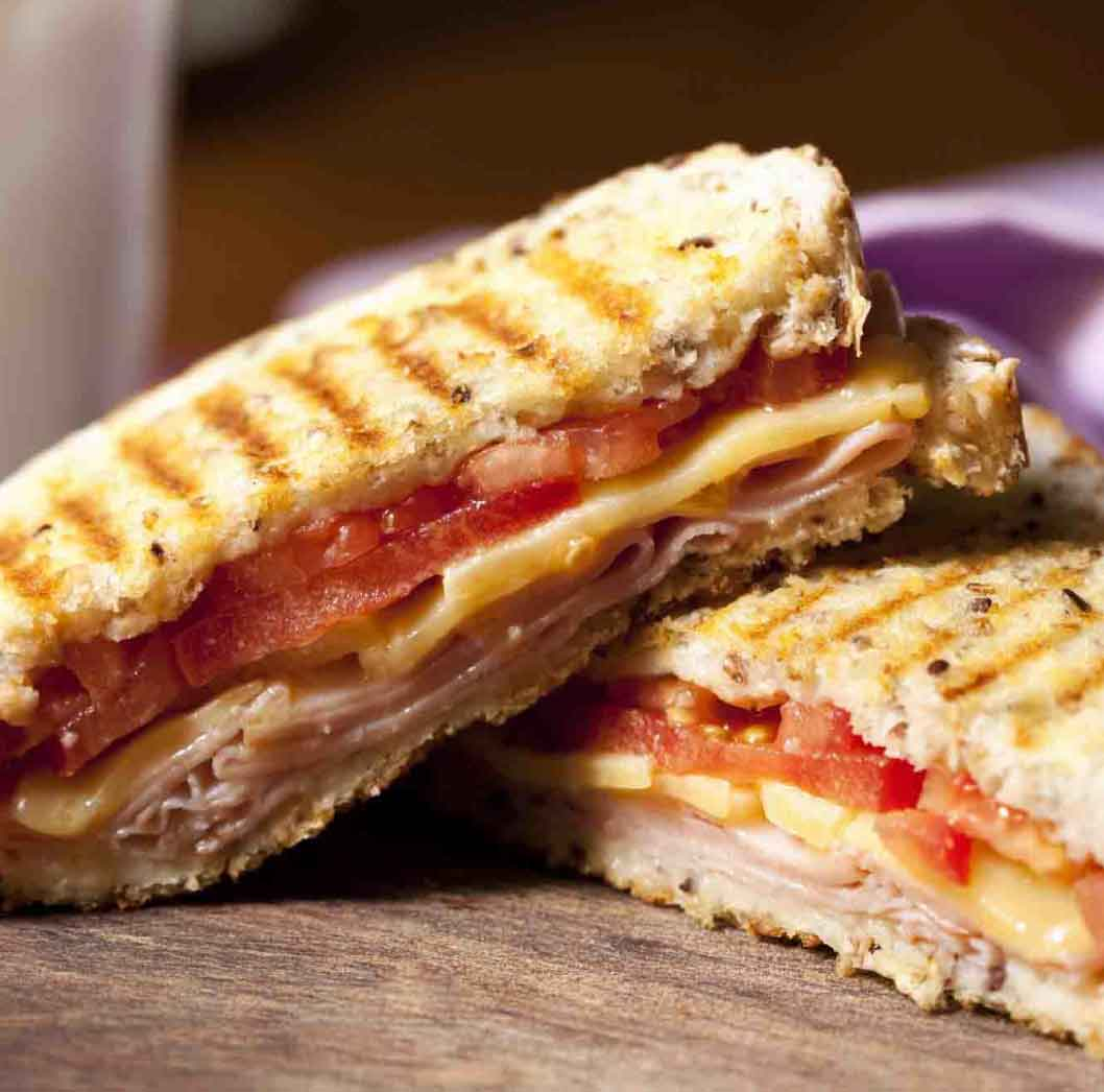 Toasted Cheese and Tomato